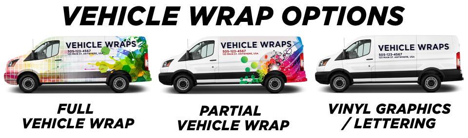Naperville Vehicle Wraps vehicle wrap options